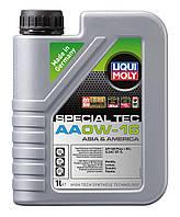 Cинтетическое моторное масло Liqui Moly Special Tec AA 0W-16