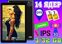 Планшет телефон Asus TAB Slim 14 ядер, 3/32 Gb 2SIM,GPS, экран 10.1' Android 10 Корея