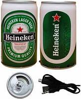 MP3 плеер в виде банки пива «Heineken»