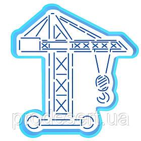 Кран вирубка з трафаретом 12,5*12 см (TR-2)