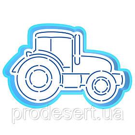Трактор вирубка з трафаретом 8*12 см (TR-2)
