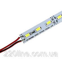 Світлодіодна лінійка JL 5730-72 led W 15W 6500K, 12В, IP20 білий ECO