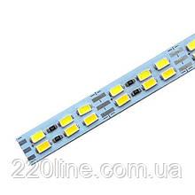 Світлодіодна лінійка JL 5730-144 led W/WW 3-pin 3500K-6500K, 12В, IP20 теплий білий/білий