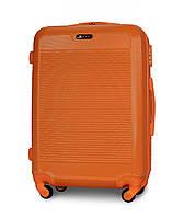 Чемодан Fly 1093 Средний 65х47х27 см 58 л на 4 колесах Оранжевый