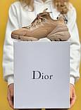 Стильні жіночі кросівки Dior Beige / Діор Бежеві /36,37 розмір/ Розпродаж, фото 4