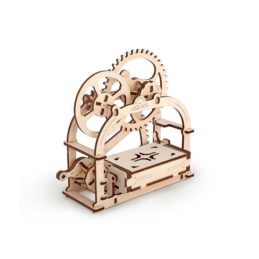 Механічний 3D пазл «Шкатулка» UGears (70001)