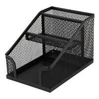 Підставка для дрібниць Axent 100х143х100мм, wire mesh, black (2118-01-A)