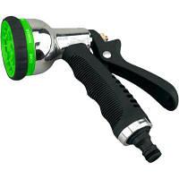 Пистолет для полива GARTNER 8-поз. металл хромированный (80072042)