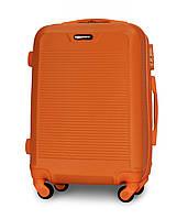 Чемодан Fly 1093 Малый 55х40х24 см Ручная кладь на 4 колесах Оранжевый