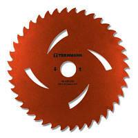 Нож для газонокосилки Tekhmann к садовому триммеру 255х25.4 мм 40 зубцов (40340254)