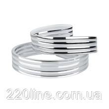 Декоративна стрічка DS-R260-08-4S до світильника DEL-R-20-18-4 DIY( 4 серебр. смужки)