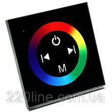 Контролер RGB OEM 12A-Touch black вбудовується