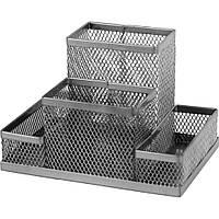 Підставка для дрібниць Axent 155х103х100мм, wire mesh, silver (2117-03-A)