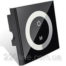 Диммер OEM 8A-Touch-B чорний вбудовується