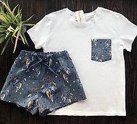 Домашняя хлопковая пижама (ловец снов) р. L - XL