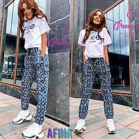 """Костюм двійка жіночий молодіжний літній,розмір 42-46 (2цв) """"AFINA"""" купити недорого від прямого постачальника"""
