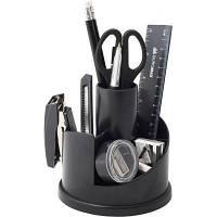 Настольный набор BUROMAX 13 items, black (BM.6304-01)