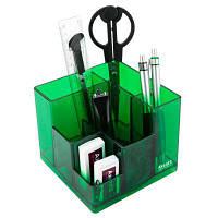 Настольный набор Axent Cube 9 предметов Салатовый (2106-09-A)