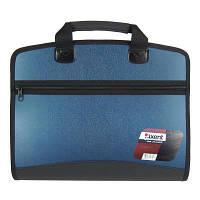 Папка - портфель Axent А4, 4 compartments, blue metallic (1621-12-А)