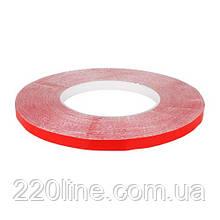 Скотч AT-2s-200-78-50-RED (7,8мм х 50м) тканевая основа, красный