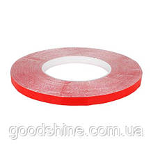 Скотч AT-2s-200-95-50-RED (9,5мм х 50м) тканевая основа, красный