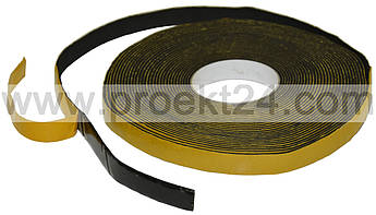 Лента EPDM, ЕПДМ, ЭПДМ (120кг\м3, 3мм*10мм*15м.п.)