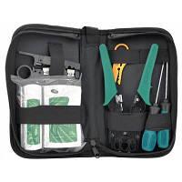 Набор инструментов для сети 7 in 1, HT-315, G501, Tester, Screwdrivers, Stripper, Bag Merlion (B036)