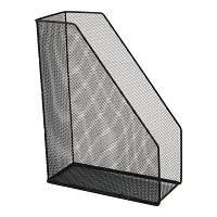 Лоток для бумаг Axent вертикальный 100x250x320 мм металлический Черный (2120-01-A)