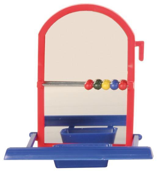 Іграшка для папуги Дзеркало з жердинки 9см