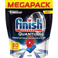 Таблетки для посудомоечных машин Finish Quantum Ultimate 60 шт (4002448144595)
