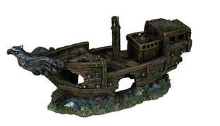 Грот Уламки корабля, 32 см, пластик