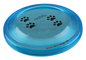 Игрушка для собак диск для игры 19 см