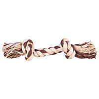 Игрушка для собак веревка с узлом, 75 г/22 см, цветная