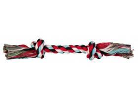 Игрушка для собак веревка с узлом, 125 г/26 см