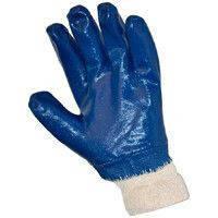 Перчатки с нитриловым обливом (синие)
