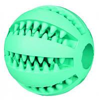 Игрушка для собак мяч Denta Fun с запахом мяты, резина, 6 см