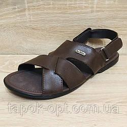 Шкіряні сандалі для чоловіків Belsta