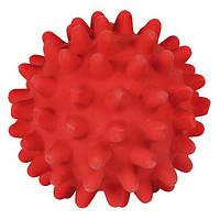 Игрушка для собаки Мяч игольчатый, 7 см, латекс