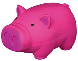 Іграшка для собак Порося, 11 см, латекс, кольору в асортименті