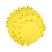 Іграшка для собак м'яч голчастий з натуральної гуми, 9.5 см