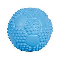 Іграшка для собак м'яч футбольний, 5.5 см, натуральна гума