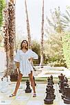 Белое пляжное платье, фото 3