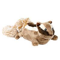Іграшка для собак Бурундук, 28 см, плюш