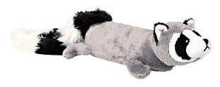 Іграшка для собак Єнот 46 см плюш