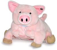 Подушка с покрывалом детская Поросенок Чуша