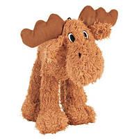 Іграшка для собак Лось, плюш, 15 см