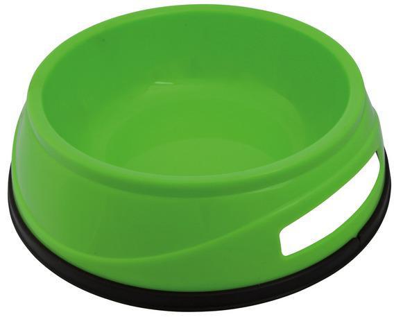 Миска пластикова для собак 0,5 л / ø14 см