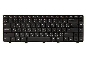 Клавіатура для ноутбука DELL Inspiron N4110 чорний, чорний кадр