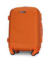 Чемодан Fly 1093 мини 52х37х20 см Ручная кладь на 4 колесах Оранжевый