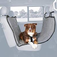 Автомобільна підстилка для собак 1,45 х 1,6 м, сірий / чорний